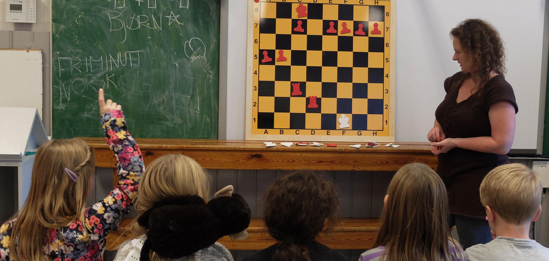 Sjakk som pedagogisk verktøy?